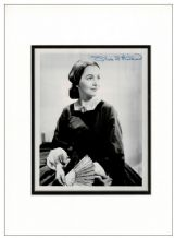 Olivia de Havilland Autograph Photo - Gone With The Wind